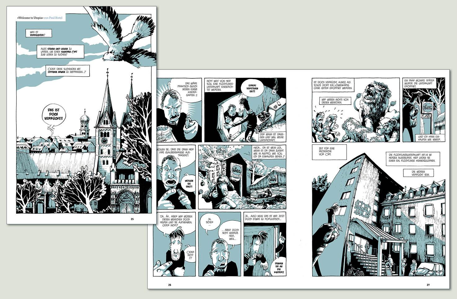 Projekt Comicwerkstatt Geschichten Aus Dem Grandhotel